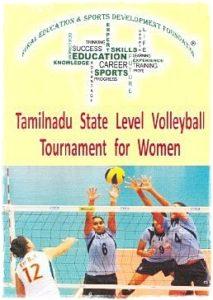 Tamilnadu State-Level Volleyball tournament for Women